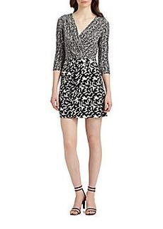 Diane von Furstenberg Melodi Silk Jersey Dress