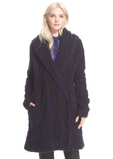 Diane von Furstenberg 'Mercer' Shawl Collar Coat