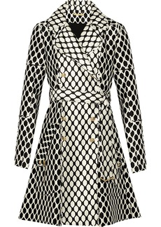 Diane von Furstenberg Michelle printed wool and silk-blend jacket
