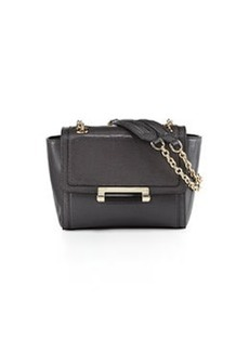 Diane von Furstenberg Mini Lizard-Embossed Crossbody Bag, Flint
