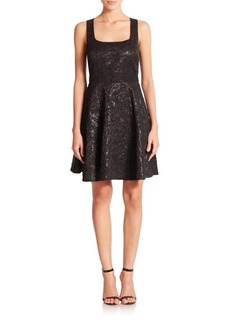 Diane von Furstenberg Minnie Fit-&-Flare Dress