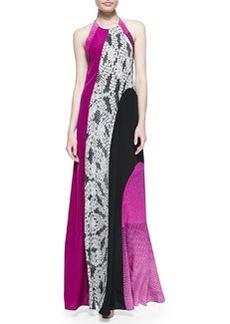 Diane von Furstenberg Naomi Halter Maxi Dress
