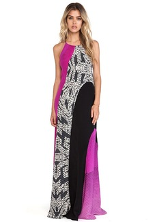 Diane von Furstenberg Naomi Maxi Dress in Black