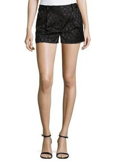 Diane von Furstenberg Naples Diamond Jacquard Shorts