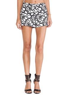Diane von Furstenberg Napoli Shorts in White