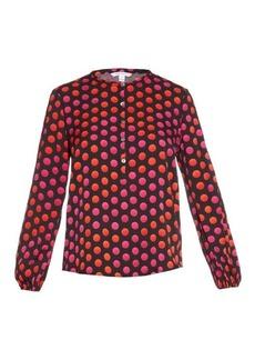 Diane Von Furstenberg Neda blouse