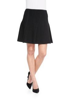 Diane von Furstenberg Nellie Box-Pleated Skirt
