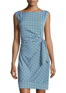 Diane von Furstenberg New Della Check Sheath Dress