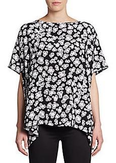Diane von Furstenberg New Hanky Printed Silk Top
