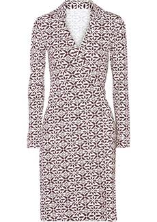 Diane von Furstenberg New Jeanne floral-printed stretch-jersey wrap dress