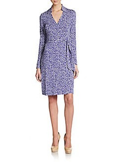 Diane von Furstenberg New Jeanne Jersey Wrap Dress