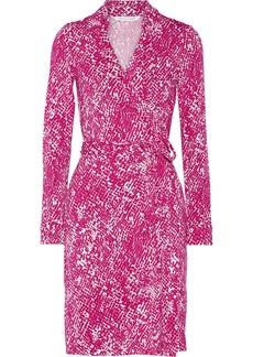 Diane von Furstenberg New Jeanne printed stretch-jersey wrap dress