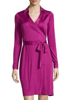 Diane von Furstenberg New Jeanne Two Wrap Dress, Lotus Berry