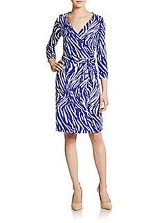 Diane von Furstenberg New Julian Jersey Wrap Dress