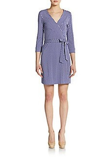 Diane von Furstenberg New Julian Mini Wrap Dress