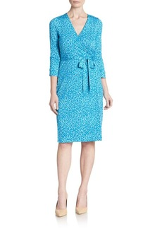 Diane von Furstenberg New Julian Silk Jersey Dress