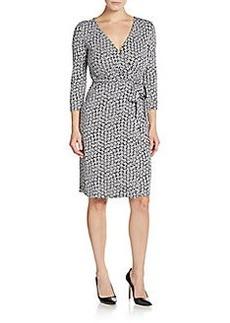 Diane von Furstenberg New Julian Silk-Jersey Wrap Dress