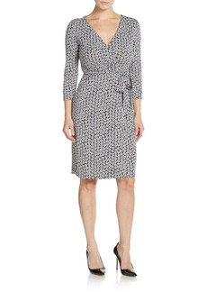 Diane von Furstenberg New Julian Silk-Jersey Wrap Dress