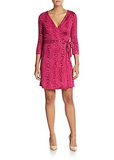 Diane von Furstenberg New Julian Silk Wrap Dress