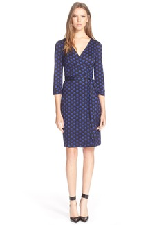 Diane von Furstenberg 'New Julian Two' Polka Dot Silk Wrap Dress