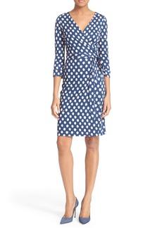 Diane von Furstenberg 'New Julian Two' Polka Dot Silk Wrap Dress (Nordstrom Exclusive)