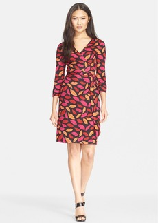 Diane von Furstenberg 'New Julian Two' Print Silk Wrap Dress