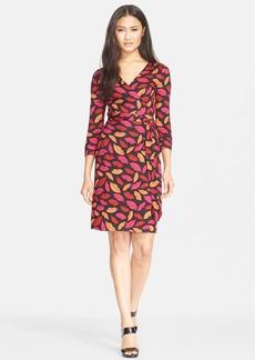 Diane von Furstenberg 'New Julian Two' Print Silk Wrap Dress