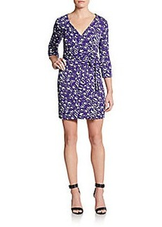 Diane von Furstenberg New Julian Two Printed Jersey Wrap Dress