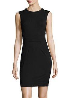 Diane von Furstenberg New Julian Two Seamed Sheath Dress, Black