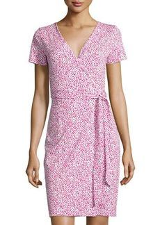 Diane von Furstenberg New Julian Two Short-Sleeve Wrap Dress