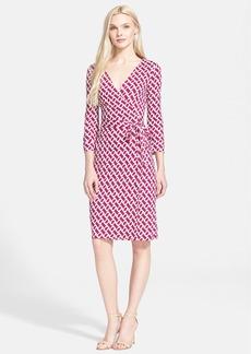 Diane von Furstenberg 'New Julian Two' Silk Jersey Wrap Dress (Nordstrom Exclusive)