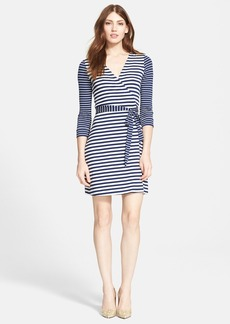 Diane von Furstenberg 'New Julian Two' Stripe Wrap Dress