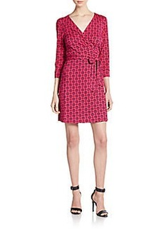 Diane von Furstenberg New Julian Wrap Dress