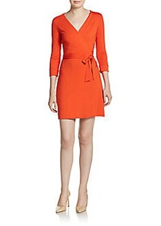 Diane von Furstenberg New Julian Wrap Mini Dress