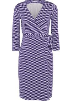 Diane von Furstenberg New Julien Two printed stretch-jersey wrap dress