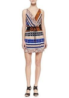 Diane von Furstenberg New Oblixe Wrapped Dress