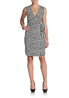Diane von Furstenberg New Yahzi Jersey Wrap Dress