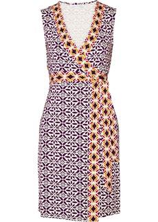Diane von Furstenberg New Yahzi printed stretch-jersey dress