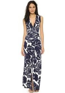 Diane von Furstenberg New Yahzi Silk Maxi Dress