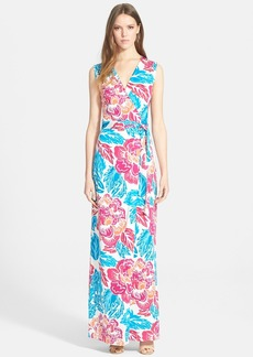 Diane von Furstenberg 'New Yahzi Two' Silk Wrap Maxi Dress