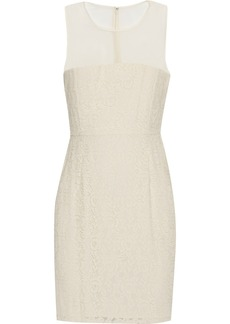 Diane von Furstenberg Nisha lace mini dress