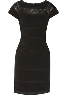 Diane von Furstenberg Novi paneled stretch-ponte dress