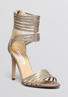 DIANE von FURSTENBERG Open Toe Evening Sandals - Ursula High Heel