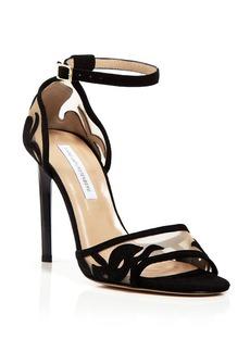 DIANE von FURSTENBERG Open Toe Evening Sandals - Vanessa High Heel
