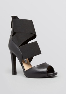 DIANE von FURSTENBERG Open Toe Platform Sandals - Juliesa High Heel
