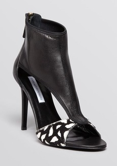 DIANE von FURSTENBERG Open Toe Sandals - Uffie High Heel