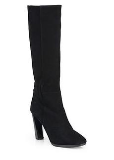 Diane von Furstenberg Pagri Suede Knee-High Boots