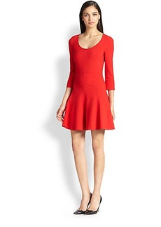 Diane von Furstenberg Paloma Fit & Flare Dress