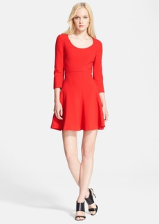 Diane von Furstenberg 'Paloma' Woven Fit & Flare Dress