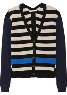 Diane von Furstenberg Pam striped cashmere cardigan
